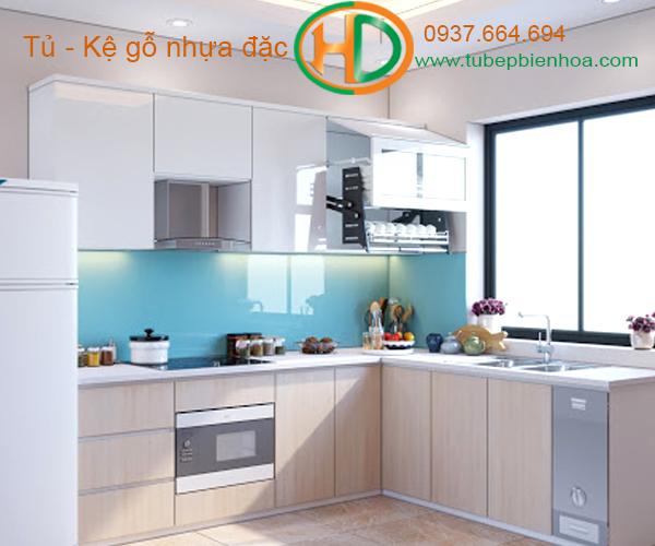 tủ bếp nhựa đẹp 2020 hd10
