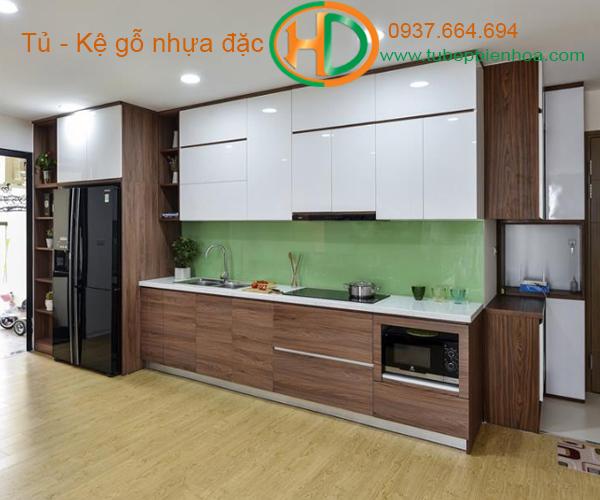 tủ bếp nhựa đẹp 2020 hd2