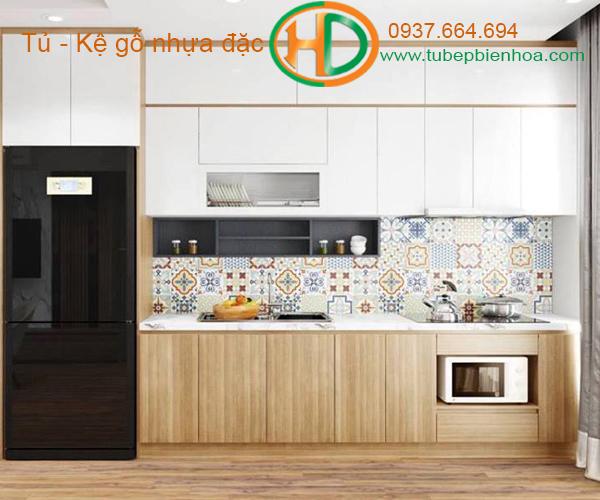 tủ bếp nhựa đẹp 2020 hd3