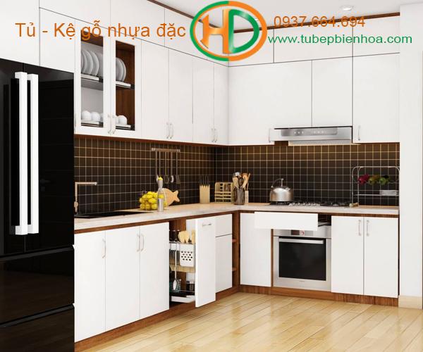 tủ bếp nhựa đẹp 2020 hd5