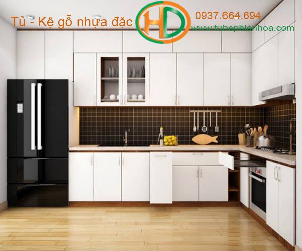 tủ bếp nhựa đẹp 2020 hd9