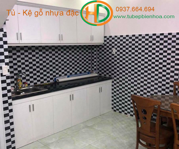 tủ bếp xinh hd6
