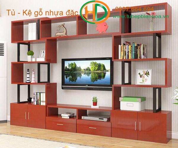 khung kệ nhựa để tivi 7