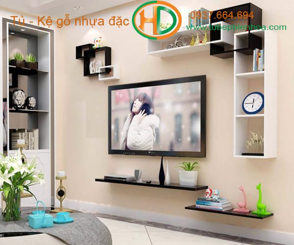 khung kệ nhựa để tivi hd6