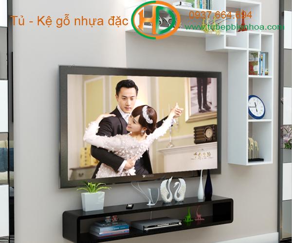 khung kệ nhựa để tivi hd8