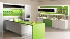 Sản xuất và thiết kế tủ bếp nhựa Laminate
