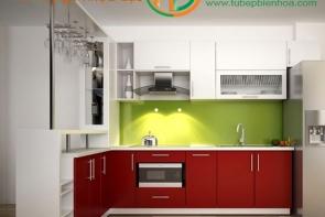 Sản xuất thiết kế tủ bếp nhựa đặc cao cấp giá rẻ