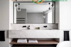 Tủ phòng tắm nhựa cao cấp chống thấm nước