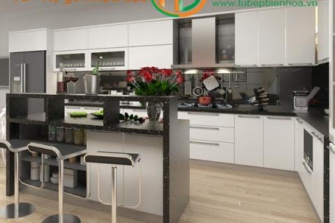 Tủ bếp nhựa cao câp quầy Bar đẳng cấp-sang trọng