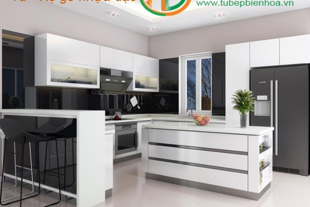 Chuyên sản xuất và lắp đặtcác loại tủ bếp tại Biên Hòa
