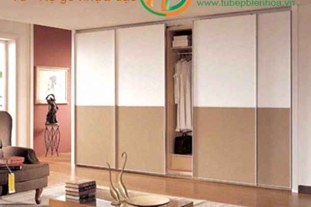 Chuyên thiết kế tủ quần áo nhựa cao cấp âm tường