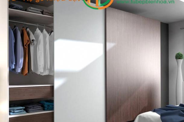 Tủ quần áo nhựa cao cấp-Thiết kế tủ quần áo từ nhựa đặc PVC