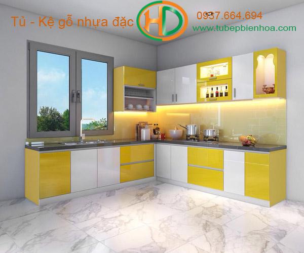 tủ bếp nhựa acrylic hd0