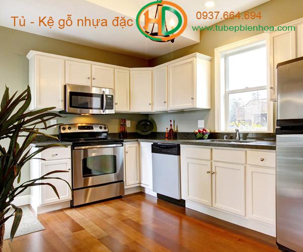 tủ bếp nhựa acrylic hd7