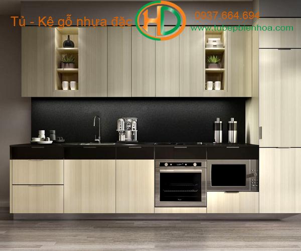 tủ bếp nhựa cao cấp hd2