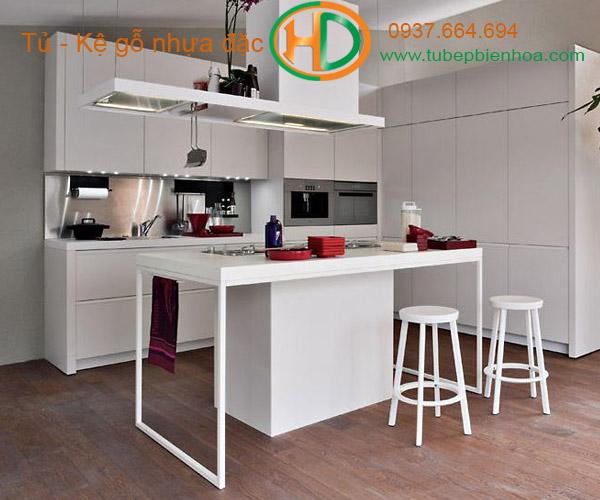 tủ bếp nhựa laminate hd6