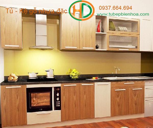 tủ bếp nhựa vân gỗ biên hòa 2019 hd4