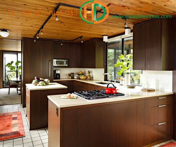tủ bếp nhựa vân gỗ biên hòa 2019 hd8