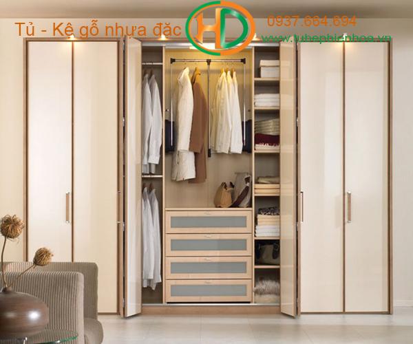 Tủ quần áo âm tường 6