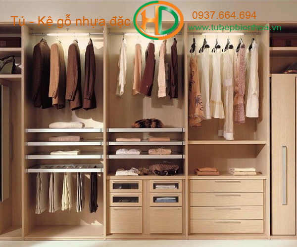 tủ quần áo nhựa arylic 2019 4