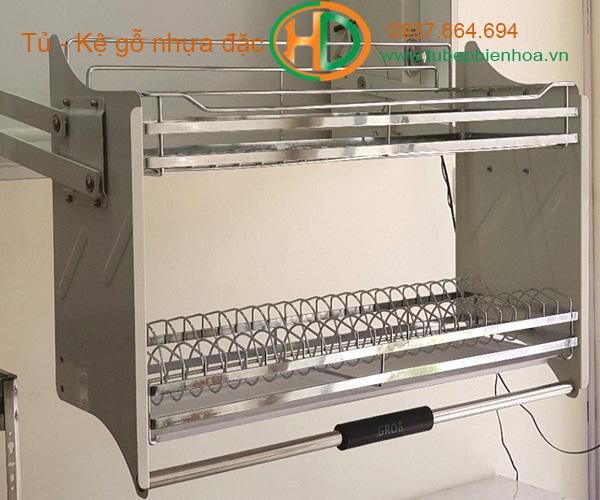 giá đựng bát đĩa nâng hạ tủ bếp trên biên hòa 8