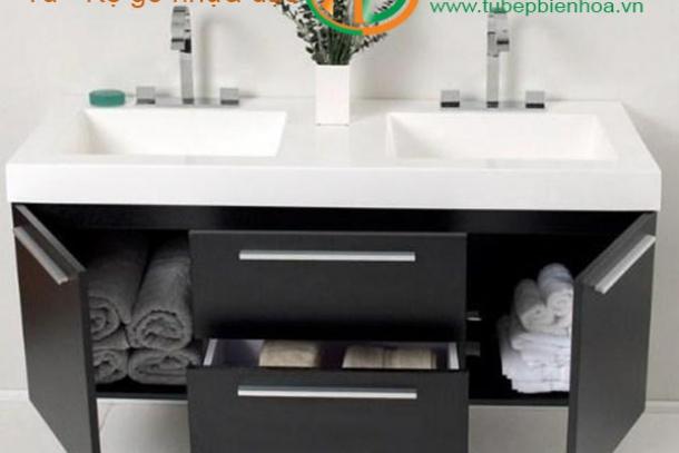 Thiết kế tủ phòng tắm nhựa cao cấp tại Biên Hòa