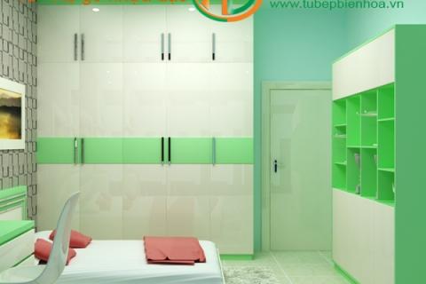 Mẫu tủ quần áo nhựa đẹp Biên Hòa