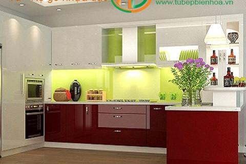 Thiết kế và lắp đặt tủ bếp nhựa cao cấp tạiBiên Hòa