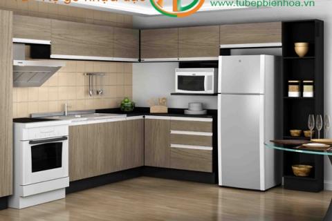 Tủ bếp nhựa siêu bền đẹp và hiện đại
