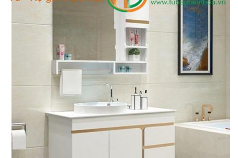Tủ phòng tắm nhựa cao cấp Mini một chậu Lavabo