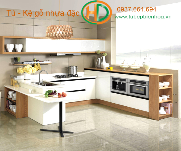 Tủ bếp đẹp cho những công trình hiện đại