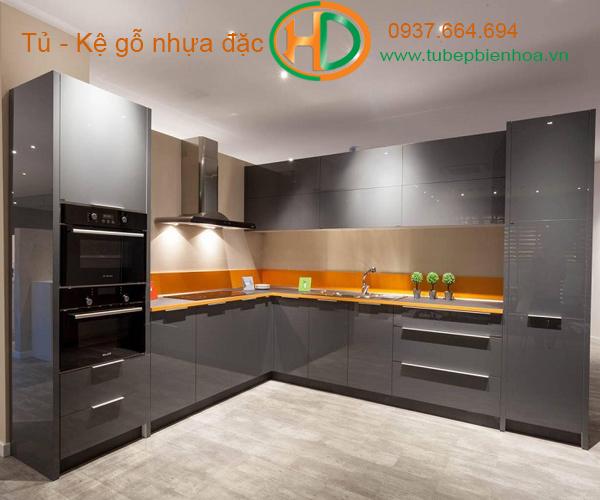 Tủ bếp nhựa cao cấp đẹp cho mọi nhà