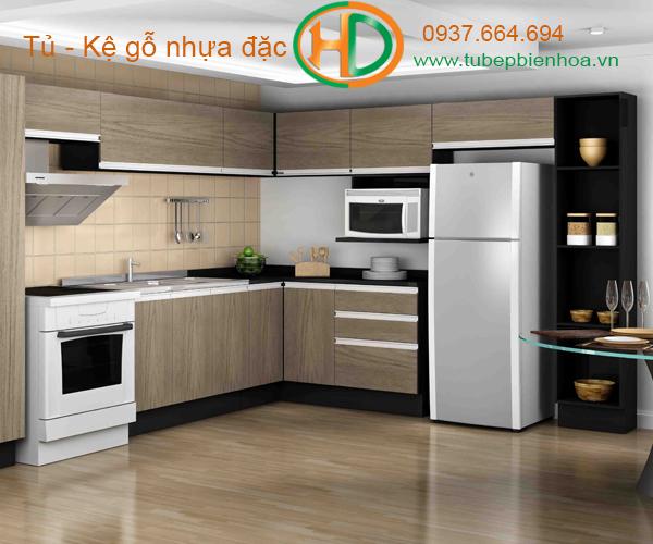 tủ bếp nhựa lựa chọn siêu bền đẹp và hiện đại 1