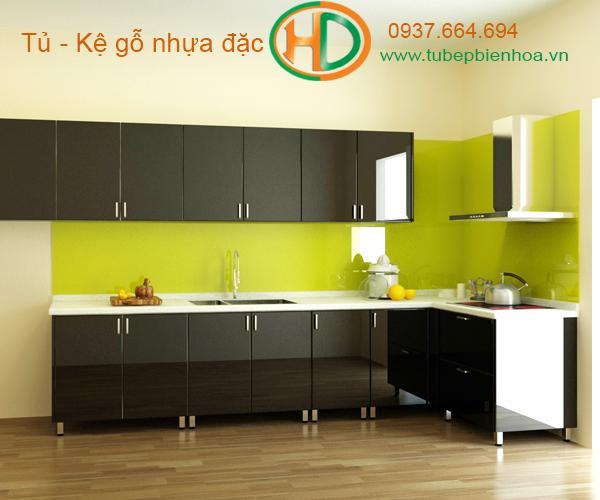tủ bếp nhựa lựa chọn siêu bền đẹp và hiện đại 12
