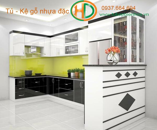 tủ bếp nhựa lựa chọn siêu bền đẹp và hiện đại 14
