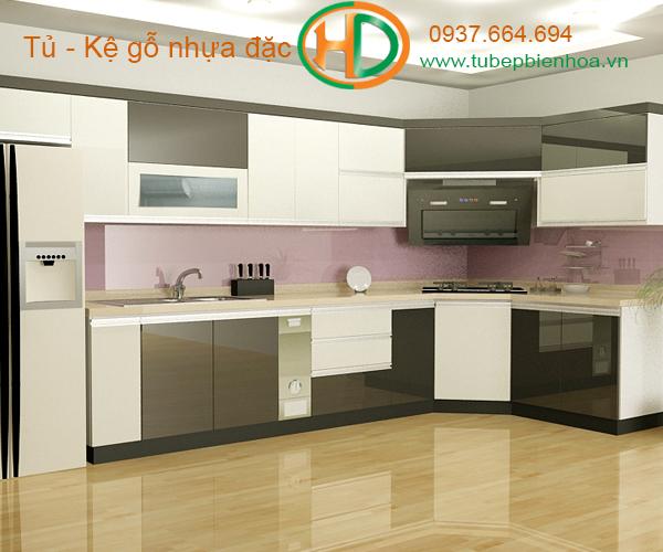tủ bếp nhựa lựa chọn siêu bền đẹp và hiện đại 3
