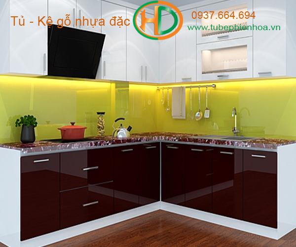 tủ bếp nhựa lựa chọn siêu bền đẹp và hiện đại 5