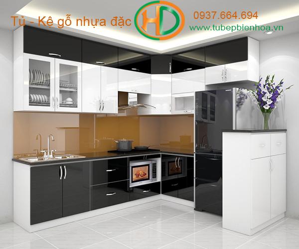 tủ bếp nhựa siêu bền đẹp và hiện đại 6