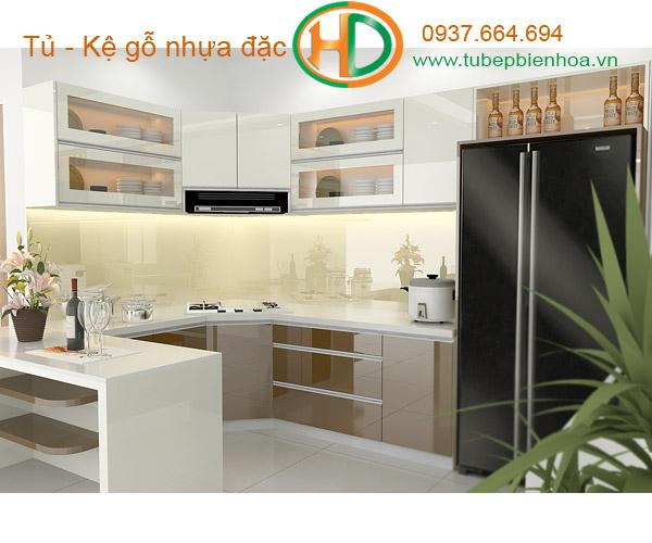 tủ bếp nhựa siêu bền đẹp và hiện đại 9