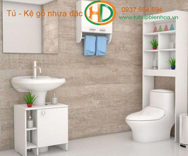 tủ phòng tắm nhựa cao cấp nhỏ một chậu lavabo 2