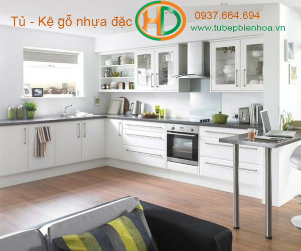 mẫu tủ bếp nhựa cao cấp giá rẻ biên hòa 12