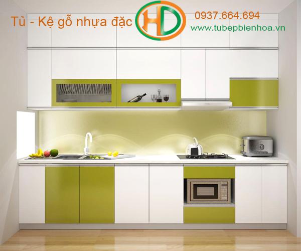 mẫu tủ bếp nhựa cao cấp giá rẻ biên hòa 17