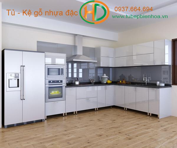 mẫu tủ bếp nhựa cao cấp giá rẻ biên hòa 21