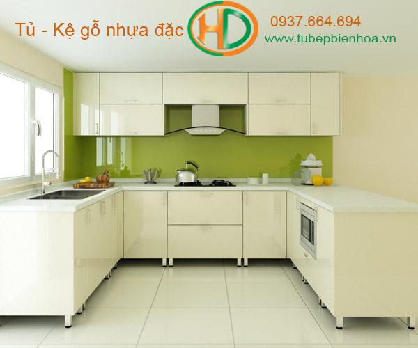 mẫu tủ bếp nhựa cao cấp giá rẻ biên hòa 24