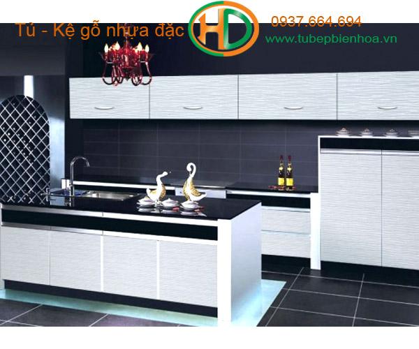 mẫu tủ bếp nhựa cao cấp giá rẻ biên hòa 9