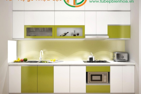 Chiêm ngưỡng 25 mẫu tủ bếp nhựa cao cấp rẻ-đep-bền ...
