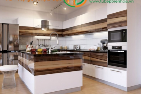 Công ty thiết kế thi công lắp đặt tủ bếp hiện đại ...