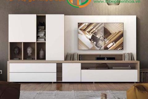Tủ kệ nhựa cao cấp-Nội thất đẹp cho phòng khách