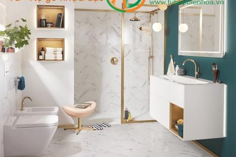 Tủ phòng tắm nhựa cao cấp PVC