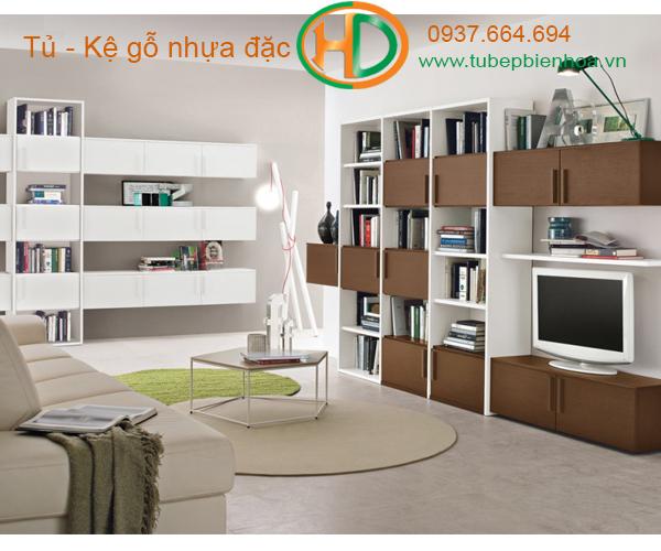 tủ kệ nhựa cao cấp nội thất phòng khách 9